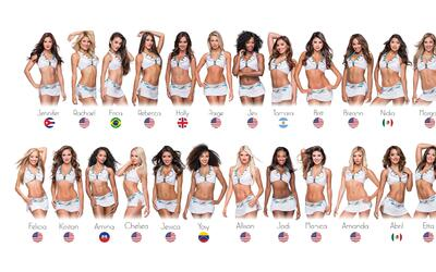 Miami Dolphins 2016 Miami Dolphins Cheerleaders by Country.jpg