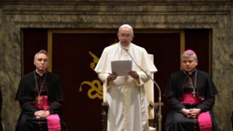 """El Papa Francisco se mostró preocupado por las """"dimensiones nunca antes..."""