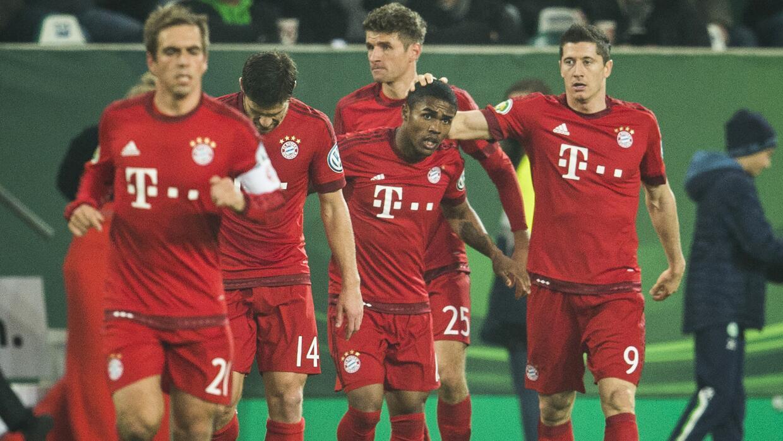 Bayern avanza a octavos de Copa alemana