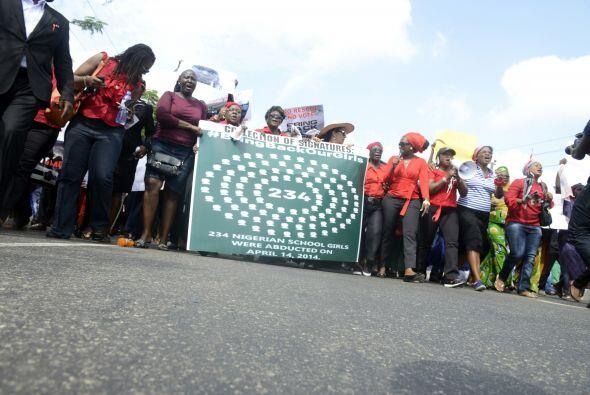 """La multitudinaria protesta fue llamada """"la marcha del millón de mujeres""""."""