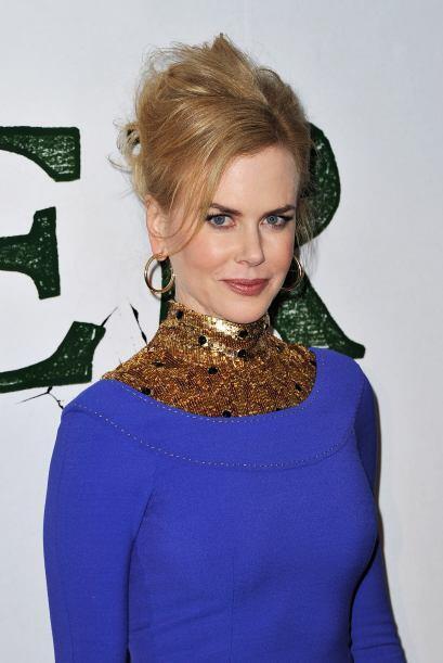 El cuello del vestido de Nicole Kidman es un claro ejemplo de lo que les...