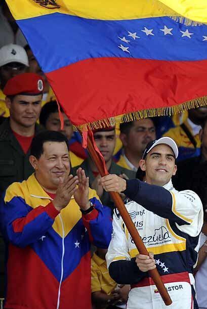 Chávez dijo que Maldonado era parte de lo positivo que tiene el país.