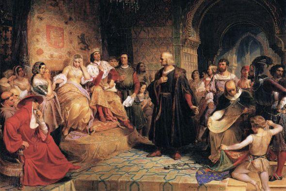 """""""Colón no quería darle problemas a la reina"""", matiza Irizarry.  (Cristób..."""