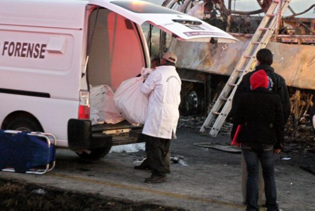 Versiones periodísticas coincidentes señalan que el accidente se produjo...