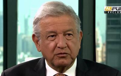 """López Obrador: Estoy enfrentando a la """"mafia del poder. Estoy en contra..."""