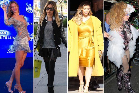 Hemos estado analizando sus 'looks', por ello, estas famosas han sido m&...