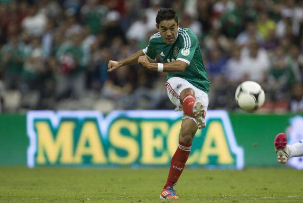 Marco Fabián (México): El atacante mexicano está an...