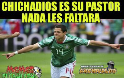 Javier Hernández se convirtió en el goleador del Tri y los...