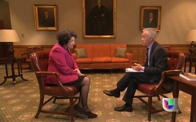La jueza Sonia Sotomayor le explicó a Jorge Ramos la importancia de ser...