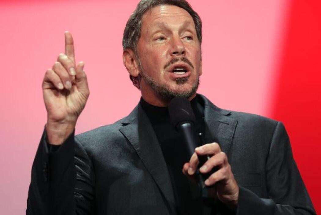 Larry Ellison, CEO Oracle  Fortuna para septiembre de 2013- $41 mil mill...