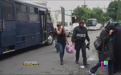 Policía rescató a inmigrantes encerrados en una casa en Ciudad de México