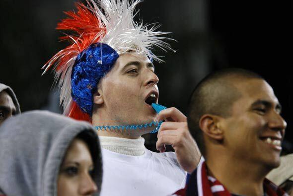 Una mayoría de estadounidenses animaron a su equipo sin descanso...