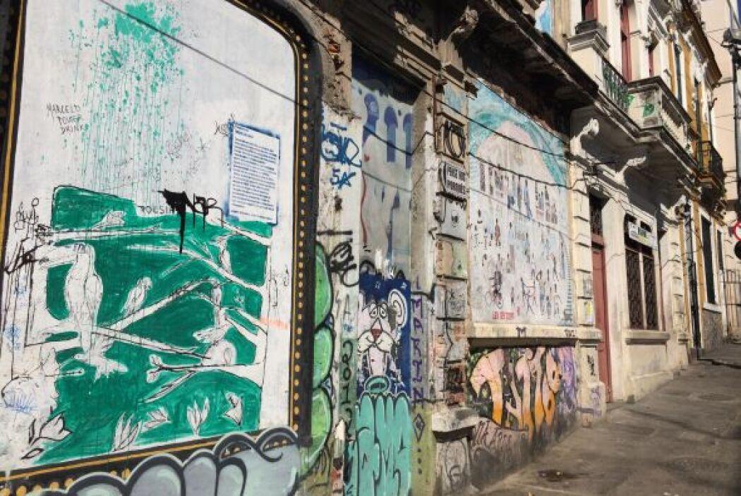 También visitó el Barrio de Lapa.
