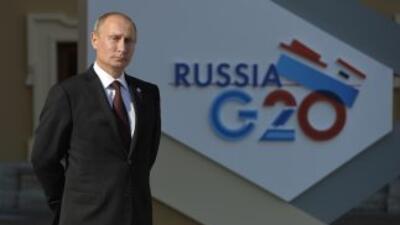 El jefe del Kremlin agregó que si bien la economía de EEUU crece, lo hac...