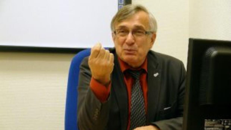El científico Víctor Grojovski. Foto: Vladímir Mkrtchian