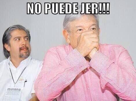 Y no faltó quien se imaginara la cara que puso Andres Manuel López Obrad...