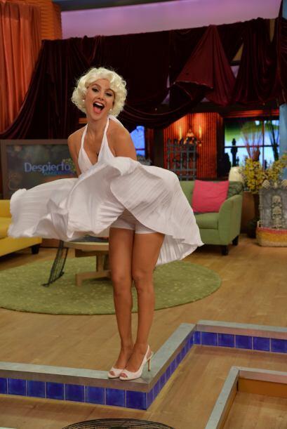 Esta escena, convirtió a Marilyn Monroe en una inmortal del cine. ¡Ximen...