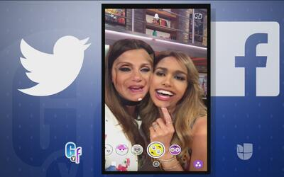 Clarissa Molina quiso ver cómo luciría con la boca de Lili Estefan