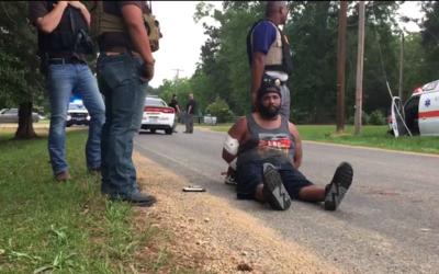 Fotograma del video en el confiesa el presunto atacante.