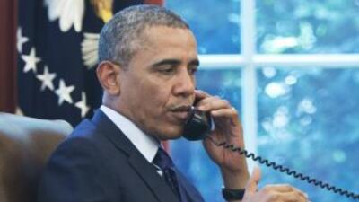 Ambos mandatarios abordaron el tema vía telefónica.