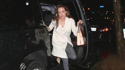 Angelina Jolie sufrió accidente automovilístico