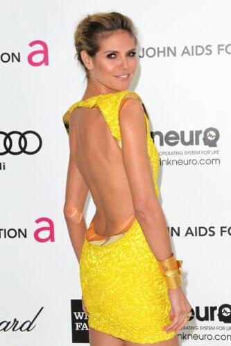 Heidi Klum, un angelito de ensueño. Mira aquí lo último en chismes.