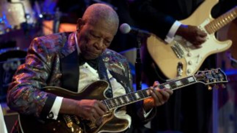 Murió la leyenda del blues, B.B. King a los 89n años.