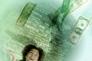 Los datos fueron el resultado de estimaciones del promedio de ingresos d...