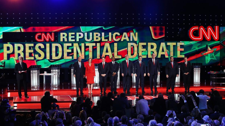 Lincoln Diaz-Balart: El Debate de Las Vegas GettyImages-GOP-Debate-Panor...