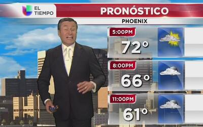 Temperaturas estables en Phoenix