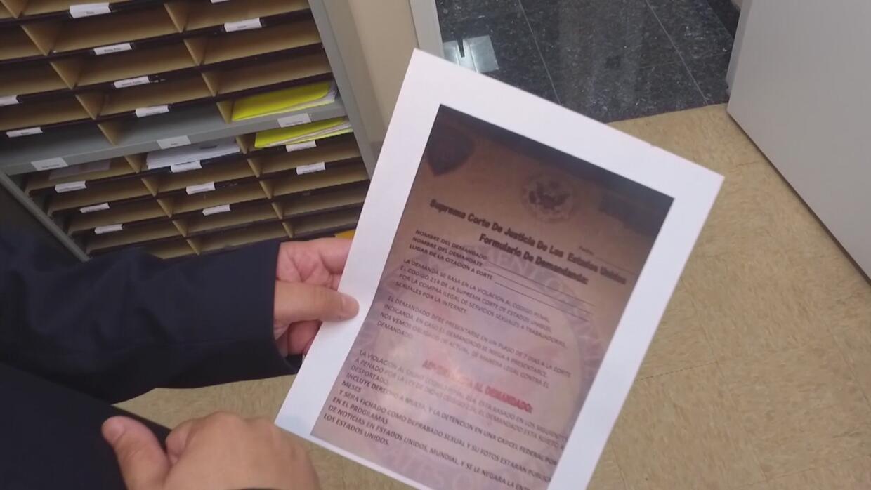 Advierten sobre falsas cartas en las que advierten a inmigrantes sobre d...