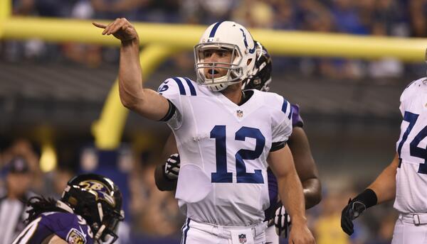 Los Colts desperdiciaron su ventaja y al final los Ravens la tomaron par...