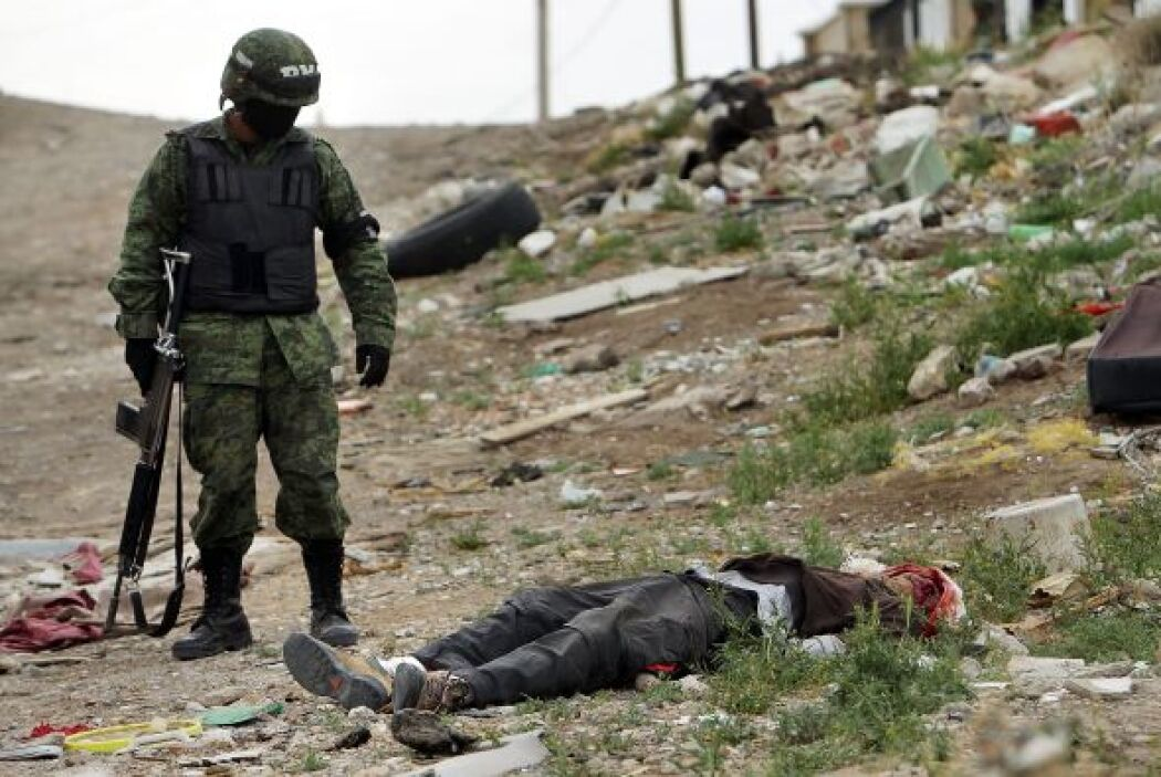 Los  asesinatos vinculados  con el narcotráfico subieron un 63% en 2010.