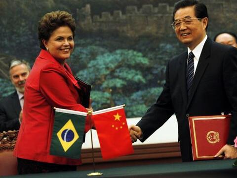 La presidenta de Brasil, Dilma Rousseff realizó una visita de Est...