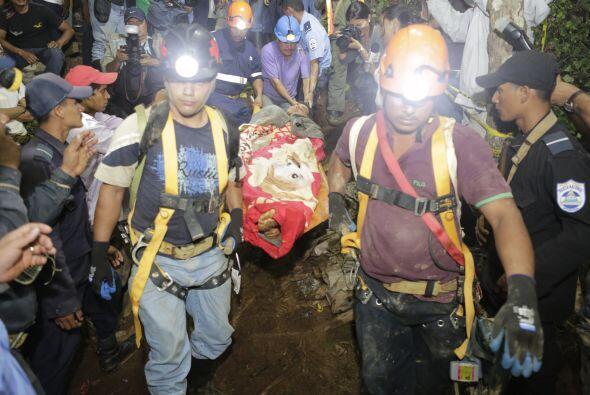 Quien lidera las labores de rescate es la Comisión Municipal de Prevenci...