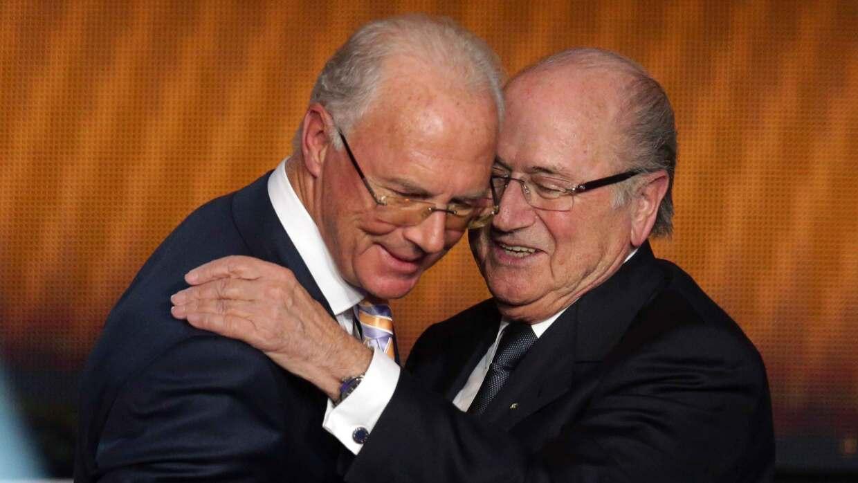 Blatter negó pedir dinero a Beckenbauer