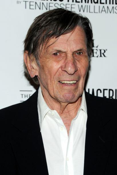Tristemente, Leonard Nimoy, más reconocido por su papel de Spock...