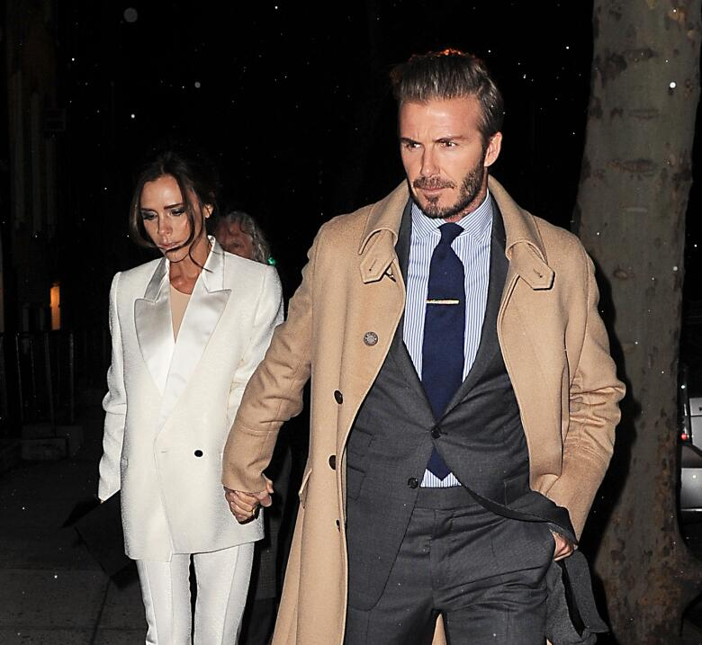 David y Victoria Beckham en plena 'date'