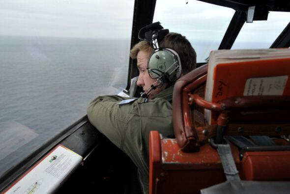 El operativo se llevaba a cabo sobre una inmensa área en Asia y el Océan...