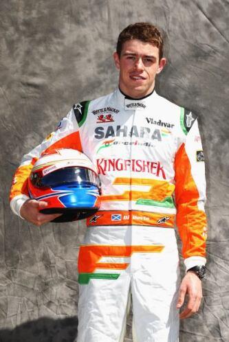 Paul di Resta, Gran Bretaña, Force India-Mercedes.