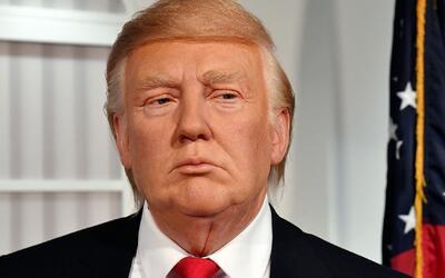 Develan nueva figura de cera de Donald Trump días antes de la inauguraci...