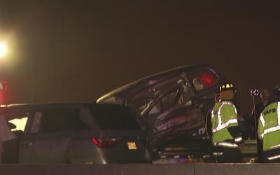Un auto en contravía provoca el accidente donde dos personas murieron en...