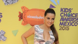 Maite Perroni en los Kid's Choice Awards México.