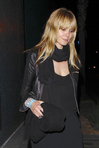 Encontramos a Heidi Klum en una misteriosa salida nocturna. Más videos d...