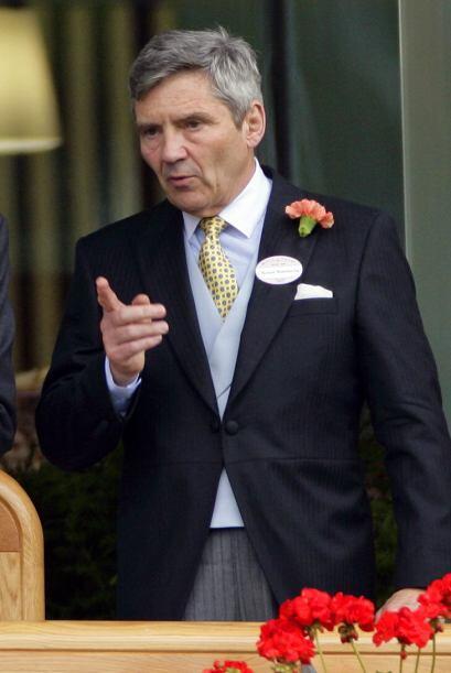Michael Middleton: Esposo de Carole y padre de Kate. Será abuelo por pri...