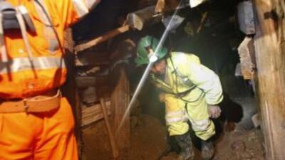 Un minero informal murió el sábado tras haber estado atrapado cuatro día...