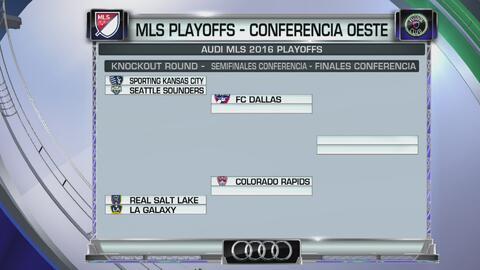 Así quedaron los cruces en los Playoffs de la MLS