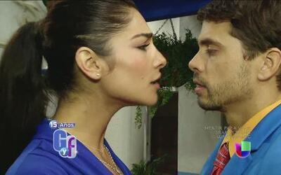 El caliente reencuentro de Alejandra Espinoza con Pedro Moreno