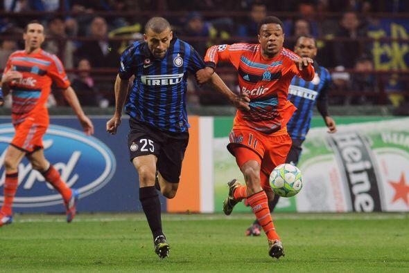 El Olympique de Marsella dejó atrás al Inter de Milan.