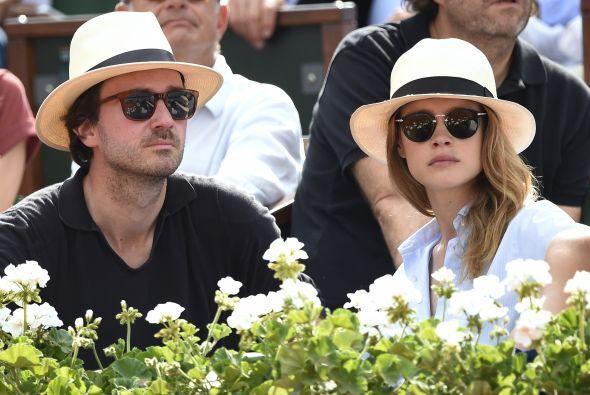 La hermosa modelo rusa Natalia Vodianova con Antoine Arnault.